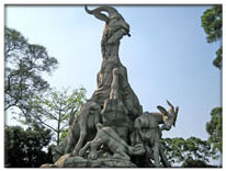 Five-Ram Sculpture at Yuexiu Park