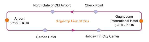 Guangzhou Airport Express Coach Line 2A