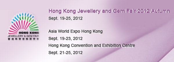 Hong Kong Jewellery and Gem Fair 2012 Autumn