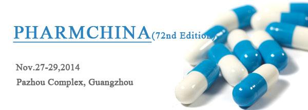 The 72nd PHARMCHINA 2014